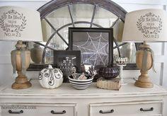 Home by Heidi: Halloween Mantle... 2014