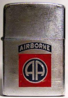 Zippo, 82nd Airborne Zippo Lighter, Advertising Poster, Literature, Sea, History, Literatura, Historia, The Ocean, Ocean