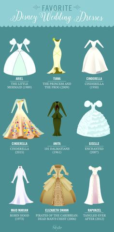 Our Favorite Disney Wedding Dresses