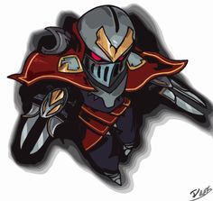 Zed from League of Legends... with a Filter