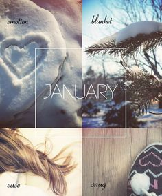 Welcome January!