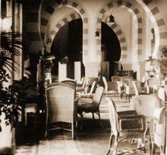 - Comedor del Hotel Old Cataract . Religious Architecture, Art And Architecture, Shepheard's Hotel, Kairo, Egypt Travel, Islamic World, In Ancient Times, British Colonial, Giza
