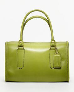 COACH Classic Leather Madison Satchel - coach classics handbags - HANDBAGS - COACH - Bloomingdale's