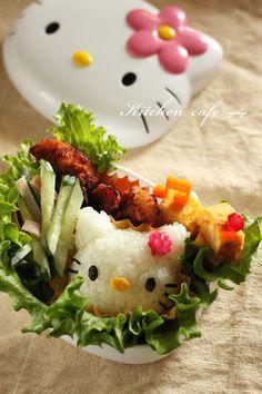 Hello Kitty in Hello Kitty! Kawaii Bento & Lunchbox|キャラ弁