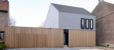 EQUITONE facade materials.Housing renovation by AST77 arch, Tienen (B) www.equitone.com