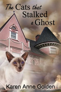 The Cats that Stalked a Ghost by Karen Anne Golden. Click through to read more http://vanessa-morgan.blogspot.be/2015/09/top-20-best-books-about-pets.html (ghost stories, animal stories, cat stories)
