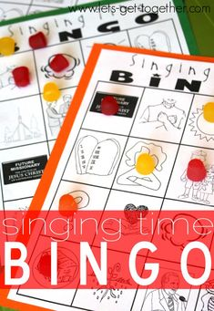 Singing Time Bingo from Let's Get Together