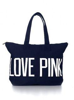 Zip Tote - Victoria's Secret Pink® - Victoria's Secret
