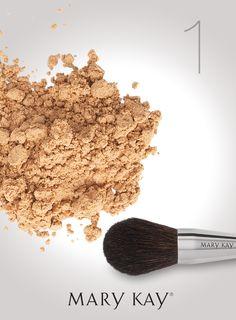 Maquillaje en Polvo Suelto Mineral Mary Kay®  En esta #GranNoche necesitas que…
