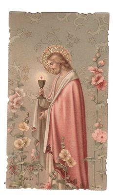"""Disse Jesus: """"Aquele que tem os meus mandamentos e os guarda, este é o que me ama""""."""