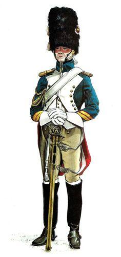 French grenadier à Cheval de la garde
