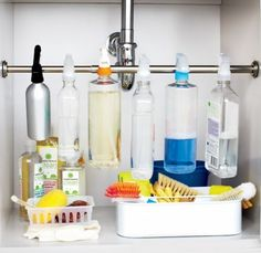 organize you're cleaning product