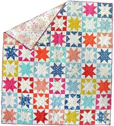 Free Tutorial - Sawtooth Star by Suzy Quilts