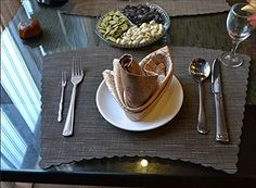 Tischsets (6er Set) - Soriace® Sets Tabellenplatzmatten Abendessen waschbare Kunststoff Vinyl platzsets / tischläufer, 45 * 30cm, Sector