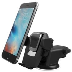 iOttie Easy One Touch 3 (V2.0) Car Mount Universal Phone Holder for iPhone 6s Plus 6s SE Samsung Galaxy S7 Edge S6 Edge Note 5 4- Retail Packaging- Black, 2016 Amazon Top Rated Car Electronics  #Electronics