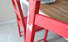 IKEA IVAR Distressed Farm Chairs - IKEA Hackers