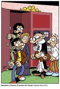 El Ministerio del Tiempo vs Mortadelo y Filemon Aura Garrido, Fallout Vault, Tv Series, Family Guy, Fandoms, Comics, Fictional Characters, Escape Room, Illustrations