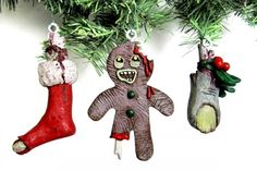 zombie christmas pics | Zombie Christmas Ornaments - $9.95 (sold individually)