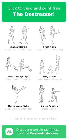 Free workout: The Destresser! – 20-min arms, legs, shoulders exercise routine. Try it now or download as a printable PDF! Browse more training plans and create your own exercise programs with #WorkoutLabsFit · #ArmsWorkout #LegsWorkout #ShouldersWorkout Don't need to go to the gym, just use your bodyweight and take a few minutes a day, 30 Day Weight Loss Challenge will greatly help to get a perfect bikini body! Ab Day Workout, Leg Day Workouts, 30 Day Workout Challenge, Ab Workout At Home, Free Workout, At Home Workouts, Workout Ideas, Fitness Exercises, Perfect Bikini Body