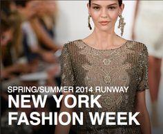Spring 2014 trends New York fashion week