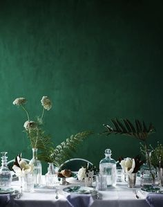 Update Your Walls In Emerald Green - AphroChic | Modern Global Interior DecoratingAphroChic | Modern Global Interior Decorating