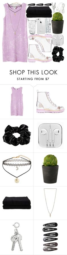 """""""Think pink, be pale, stay grunge。"""" by melislookbook ❤ liked on Polyvore featuring Monki, Sophia Webster, River Island, Miss Selfridge, Home Source International, Luv Aj and Clips"""
