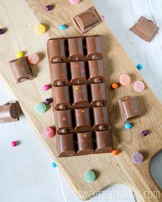 Copycat Homemade Cadbury's Dairy Milk Marvellous Creations Chocolate (Candy) Bar