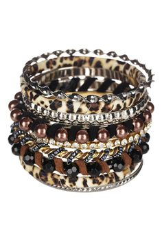 Jewelry by Felicia  Safari Chic Bangle Set