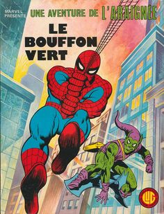 une aventure de l'araignée n° 1 : le bouffon vert, lug (1977) french edition. collects amazing spider-man 1 ; 14-15 ; 17 (1964)