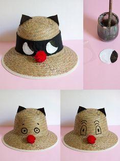 DIY Cat Sunhats