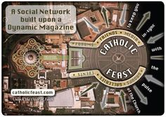 This is the MOST amazing NEW Catholic Social Networking site - part of the Awestruckglobal Community.   Go and have a look and join us.  The logo of the key and lock of the design of the Vatican City - Rome Sweet Home - beautiful and clever!
