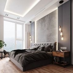 luxury bedroom design ideas 41 ~ my.me luxury bedroom design ideas 41 ~ my. Rustic Master Bedroom, Comfy Bedroom, Master Bedroom Design, Bedroom Modern, Master Suite, Trendy Bedroom, Bedroom Brown, Bedroom Black, Bedroom Vintage