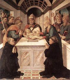 Circuncisión, óleo sobre lienzo, Filippo Lippi, 1460, Colección Privada, Jorge García Jurado