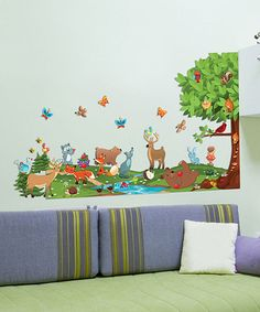 Take a look at this Forest Interactive Wall Decal Set by Mona MELisa Designs on #zulily today! $34.99