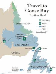 Travel to Goose Bay Goose Bay, Newfoundland And Labrador, East Coast, Places To Go, Map, Travel, Voyage, Viajes, Maps