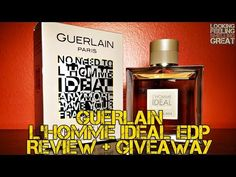 Guerlain L'Homme Ideal EDP Review + Giveaway
