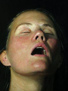 Jan Esmann's Hyper-Realistic Paintings Of Sleeping People For The Voyeur In All Of Us Original Paintings For Sale, Oil Painting For Sale, Hyper Realistic Paintings, Painting People, Life Drawing, Artist Art, Art Images, Find Art, Oil On Canvas