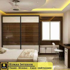 54 Ideas for bedroom closet ideas india Wardrobe Door Designs, Wardrobe Design Bedroom, Bedroom Bed Design, Home Decor Bedroom, Bedroom Furniture, Bedroom Ideas, Small Apartment Interior, Apartment Design, Flat Interior Design