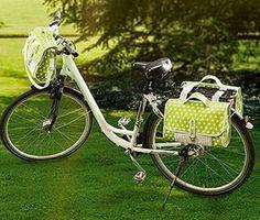 Idée couture - Set de sacoches pour le vélo - buttinette - loisirs créatifs