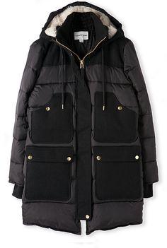 Country Road Longline Puffer Coat