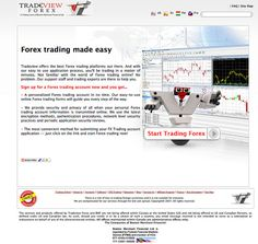 Forex trading made easy    Tradeview offers the best Forex trading platforms out there. And with our easy to use application process, you'll be trading in a matter of minutes. Not familiar with the world of Forex trading online? No problem. Our support fxsignalstrategies.com   #1 secret to trade like a professional fx trader online - Discover the tip to profitable forex trading now.  Check out www.fxsignalstrategies.com