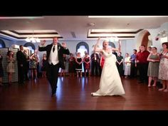 Megan and Travis shocked their family and friends with their first dance! Check out the moves! Got Married, Getting Married, Best Wedding Dance, Surprise Dance, Social Class, Dance Humor, First Dance, Evolution, Marriage