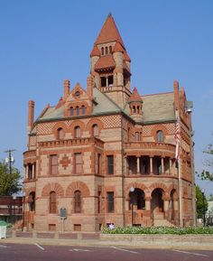 Sulphur Springs, Texas Courthouse - my GGF, Robert Barton Byrd was born in Sulphur Springs in 1871, and also born in SS, was my paternal GM, Edna Earl Byrd in 1898 AND my dad in 1929.