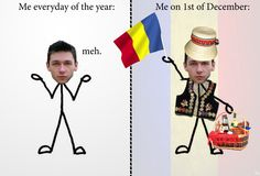 Today is 1st of December - which is the national day in Romania. I'm proud to be Romanian