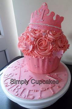 Princess+Cupcakes | Princess giant cupcake | Flickr - Photo Sharing!