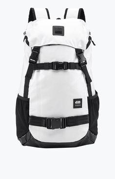 Star Wars X Nixon Stormtrooper Landlock Backpack White One Size For Men 26734515001 Computer Backpack, Collection Capsule, Kids Bags, Men's Bags, Star Wars Collection, Best Bags, Cool Backpacks, Watches For Men, Nixon Watches