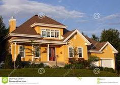 Image result for yellow house