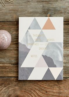 NOTEBOOK Write down your thoughts, ideas, lists and notes in this beautiful, simple notebook.  The Notebook comes in A5 size (14.8 x 21.0 cm).  The Notebook is also sold as part of our Happiness Package.    MATERIALS The book comes with blank pages of high-quality, matt recycled paper and a heavy cover with graphic print and exclusive gold foil on the front.    DELIVERY AND POSTAGE Our goal is to deliver posters within 3-7 weekdays in Europe and 2-3 weekdays in Denmark. Read more about our…