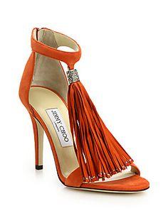 c269391f1e0 Jimmy Choo - Viola 125 Crystal Suede Sandals