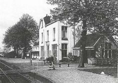 Station. Westeinde.  Vriezenveen.   Twente.  Overijssel.    Nederland.